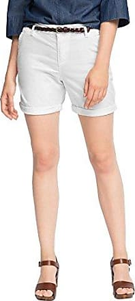 066EE1C002-Summery, Pantalon Femme, Blanc-Blanc (100), 36Esprit