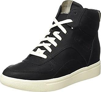 Esprit Lizette Wedge, Sneakers Hautes Femme, (Grey), 38 EU