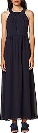 056CC1E008-Schulterfrei, Robe Femme, Bleu (Navy 400), M (Taille Fabricant: 38)EDC by Esprit