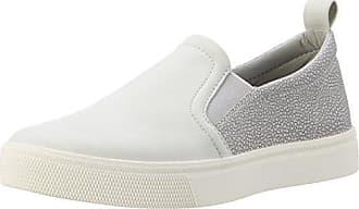 Esprit Slip On-Sneaker in Leder-Optik für Damen, Größe 40, Pastel Grey