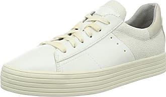 Esprit Canvas-Sneaker mit floralem Print für Damen, Größe 42, Off White