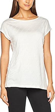 086EO1K011, T-Shirt Femme, Multicolore (Navy), 38 (Taille Fabricant: Medium)Esprit