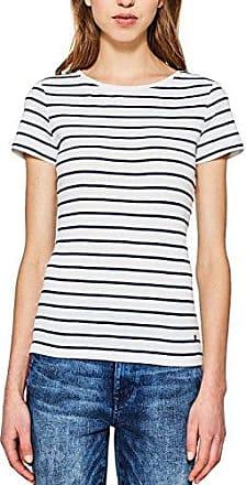 Trigema Damen T-Shirt 100% Biobaumwolle - Camiseta Mujer, Azul (Navy C2C 546), 40