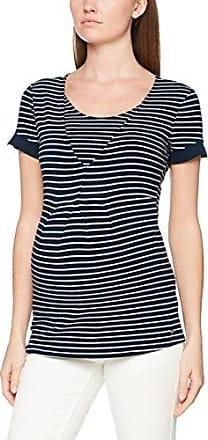 Esprit T-Shirt SS, Camiseta Premamá para Mujer, Azul (Night Blue 486), 40 (Talla del Fabricante: M)