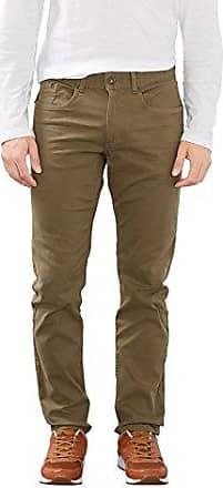 Linen Worker, Pantalones para Hombre, Verde (Khaki GRN), 34W/32L Fat Face