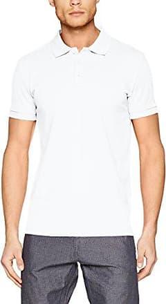 057eo2k006, Polo Homme, Blanc (White), LargeEsprit