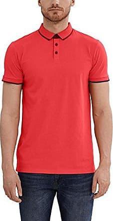 Esprit 037ee2k013, Polo Homme, Rouge (Garnet Red), Large