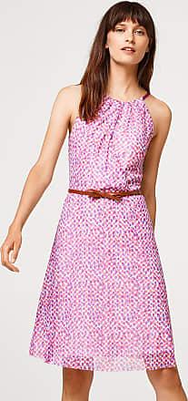 Jersey-Kleid im Zick-Zack-Look für Damen Pastel Pink Esprit