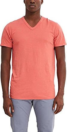 037ee2k018, T-Shirt Homme, Rouge (Coral Red), LargeEsprit
