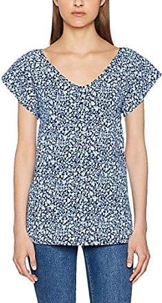 997ee1k806, T-Shirt Femme, Multicolore (Off White 110), SmallEsprit