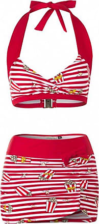 50s Classic Polka Bikini in Red and White Esther Williams