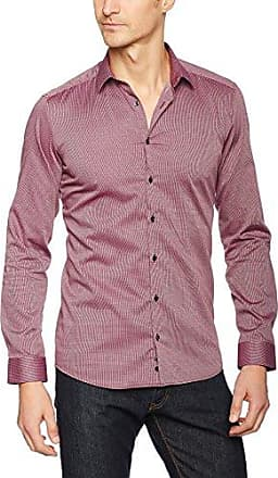 X15P, Chemise Business Homme, Rouge (Rot 56), 42Eterna