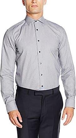 F182, Camisa para Hombre, Antracita, 40 cm (15.75) Eterna