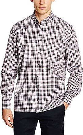 C143, Chemise Business Homme, Rouge (Rot 55), 42Eterna