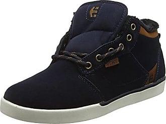 Etnies Barge LS, Zapatillas de Skateboard Hombre, Azul (Dark Navy 488), 41 EU (7 UK)