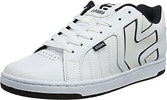 Etnies Fader 2, Chaussures de Skateboard Homme, Blanc (145-White/Navy 145), 41 EU