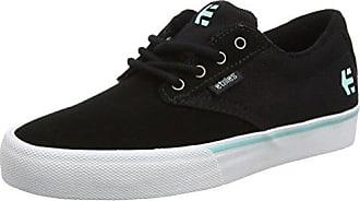 Etnies Jameson Vulc, Zapatillas de Skateboarding para Hombre, Negro (Black/White 976), 48 EU