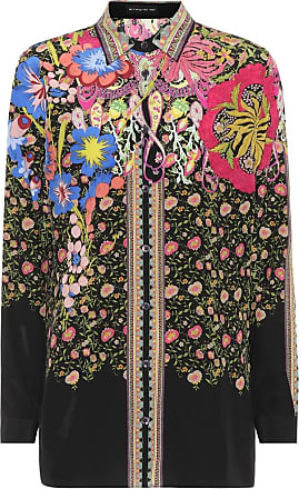 Printed silk top Etro Footlocker Pictures Cheap Online Discount Authentic Online Collections For Sale rM67Bw1