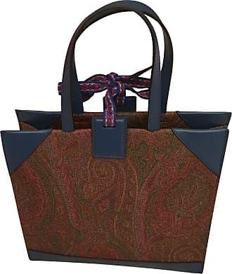 gebraucht - Handtasche - Damen - Creme - Leder Etro 4WPqphY7H9