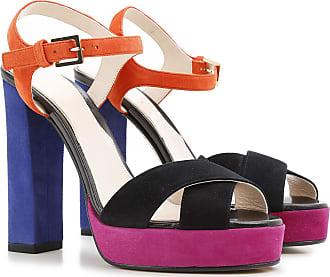 Sandalen für Damen Günstig im Sale, Elektrisches Bluette, Satin, 2017, 36 37 40 Etro