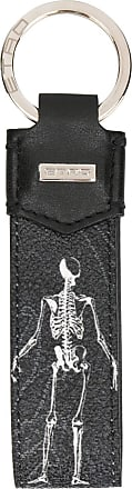 Etro skeleton tag keyring - Black aZgM27U