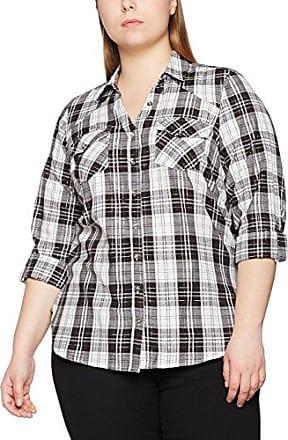 EVANS Check, Camisa para Mujer, Multicolor (Multicoloured 00), 44