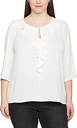 EVANS Rufffle Front, Camiseta sin Mangas para Mujer, Marfil (Ivory 97), 46