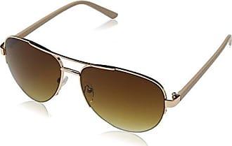 Womens Erin Sunglasses, Rose/Yellow Mirror, 55 Eyelevel