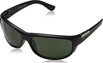 Matchman Men'Eyelevel 1 polarisierte Sonnenbrille mit Reißverschluss-Tasche, Braun - braun - Größe: Einheitsgröße