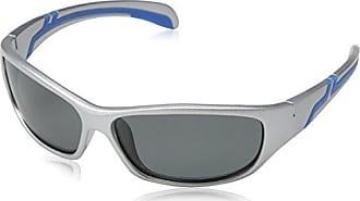 Eyelevel Zander, Occhiali da Sole di Sport Uomo, Silver (Silver/Blue), Taglia unica