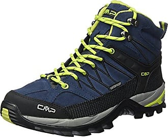 Rigel Mid WP, Zapatos de High Rise Senderismo para Hombre, Negro (Black-Loden), 40 EU F.lli Campagnolo