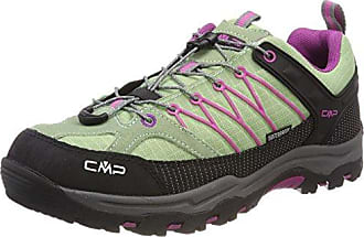 Rigel Low WP, Zapatos de High Rise Senderismo Unisex Adulto, Rosa (Pink Fluo-Asphalt), 34 EU F.lli Campagnolo