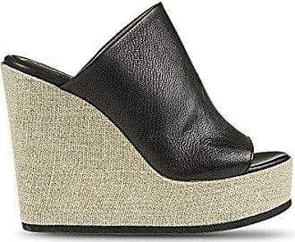 Sandale Frauen Rost 100% Leder Keilabsätze cm 13 Mod 1VERA124 - Rost, EU 39 - USA 8.5 - UK 6 Fabbrica Dei Colli
