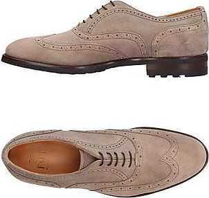 Lace Up Shoes for Men Oxfords, Derbies and Brogues On Sale, Dark Coffee, Leather, 2017, 10 6 7 9 Fabi