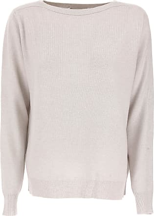 Sweater for Women Jumper On Sale, Asphalt, merino wool, 2017, 14 Fabiana Filippi