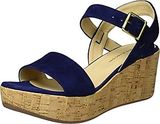 S 3599, Sandalias Romanas para Mujer, Azul (BLU), 39 EU Fabio Rusconi