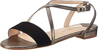 Sandaletten, Sandales Bout Ouvert Femme, Noir (Nero), 37.5 EUFabio Rusconi