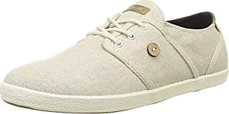 Cypress01, Damen Sneaker Weiß Blanc (001 White Shine) 40 Faguo