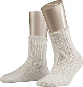 Falke Calcetines opacas para mujer, talla 37/38 - talla alemana, color blanco crudo (off-white) 2049