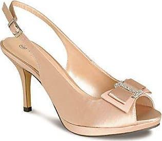 Damen Diamant Ausschnitt Glänzend Trägerlos Damen Clutch Tasche Mitte Fersen Schuhe - Hartzinn (Schuhe Only), 5 UK/38 EU Fantasia Boutique
