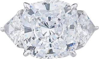 Fantasia 14kt White Gold 11.5ct Canary Cushion Cut Ring - UK I 1/2 - US 4 1/2 - EU 48 1/2 7XrVR