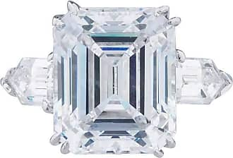 Fantasia 14kt White 2.5ct Gold Asscher Cut Ring - UK I 1/2 - US 4 1/2 - EU 48 1/2 a7cTNTk