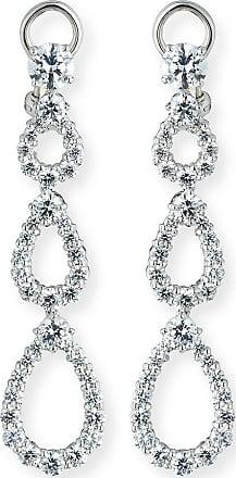 Fantasia Three-Tier Open CZ Crystal Drop Earrings 5f4oJknH
