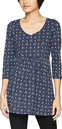 Fat Face Tulip Woodblock Paisley, Camiseta para Mujer, Azul (Navy), 38