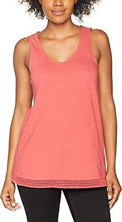 Fat Face 925576, Camiseta de Tirantes para Mujer, Rojo (Crimson), 36 (Talla del Fabricante: 8)