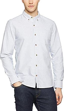 Kilworth Stripe, Camisa Casual para Hombre, Azul (Chambray BLU), Medium Fat Face