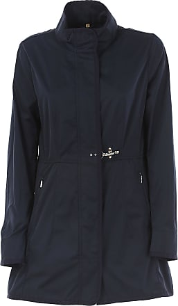 Jacket for Women On Sale, Navy Blue, polyestere, 2017, 10 6 Fay