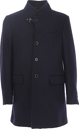 Jacket for Men On Sale in Outlet, Blue, Cotton, 2017, M Fay