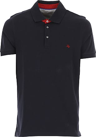 Polo Shirt for Men On Sale, Red, Cotton, 2017, L M S XL XXL Fay