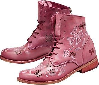 Damen-Schnürschuhe im Vintage-Stil mit Reißverschluss, Damen-Stiefeletten, Punk-/Combat-Stil, Größen 35